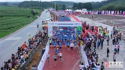 中国首创、云南最美!腾冲2019美丽乡村花海马拉松在界头激情开跑!
