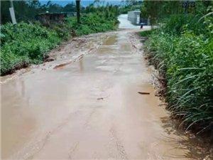 化州林尘石狗涧的烂路终于开始修了......