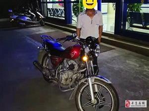 寻乌一男子因摩托车损坏,便萌生盗窃,自以为神不知鬼不觉,结果被抓,为民警点赞!