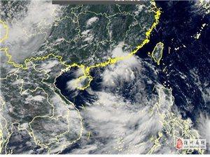 """三级预警!第7号台风""""韦帕""""或于今晚抵达海南文昌"""