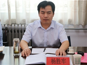 渭南市人民政府教育督导室来合阳督查职业教育暨教育经费投入情况