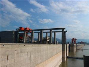 三峡大坝截流纪念园
