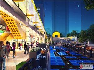 黔江目前唯一主题元素商业像素城网红打卡点
