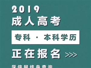 长葛市2019年河南大学成人高考