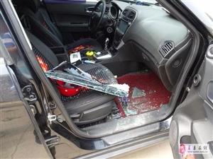 抓到了!被刑拘!一晚上砸14辆车玻璃!就是他干的!