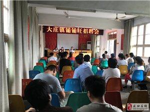 武功县大庄镇政府开展铺铺旺招聘第一批集中面试