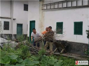 龙南多渠道开展农村人居环境整治