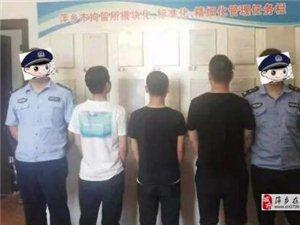 萍乡:多名男子看到民警后逃窜,民警当场查获5把长砍刀