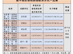 澳门金沙网址站:对县发改委等6个单位开展集中巡察