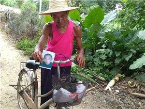 心酸!化州一位老父亲骑单车找儿子,盼在有生之年再见!