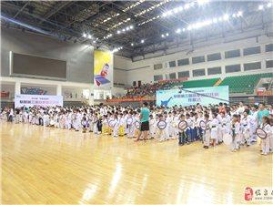 道之道-力压群雄,阜阳市第三届跆拳道公开赛再夺团体第一