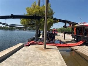 快�!��南泰安聊城消防力量上�,湖�I�水�拇迩f水位下降10多厘米