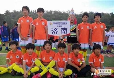 商河孙集中心小学9名女同学被山东省中小学足球夏令营评为优秀学员