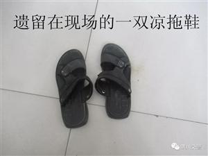 """从一双凉拖鞋入手,潢川交警成功破获""""8.9""""交通肇事逃逸案"""