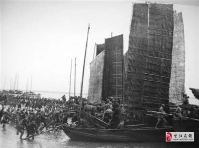 【珍贵照片】铭记望江渡江战役!三线起渡打过长江去…………