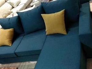 出租房简易沙发,布艺沙发,小户型