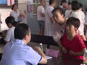 省人民医院博士团专家到县中医院开展义诊活动