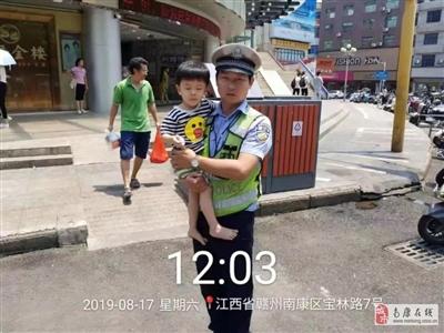 南康街�^,交警的�@些�e�颖淮蠹乙恢曼c�!
