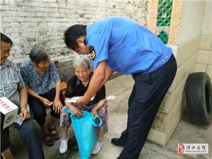 汇聚巾帼力量 共建幸福家园系列活动 之朱家边社区美丽庭院创建活动