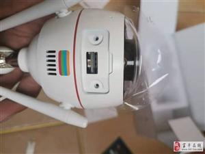 陕西益昌安防全彩摄像机智能猫眼拆机安装案例