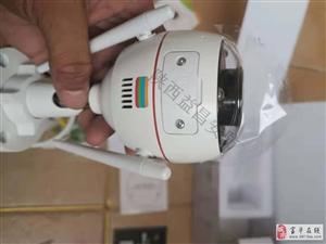 陕西益昌安防智能猫眼门铃全彩摄像机安装案例