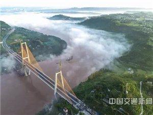 广安渠江大桥预计今年通车