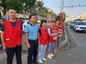 """99公益日――鄱�城�^迎�硪��""""志愿雨"""""""