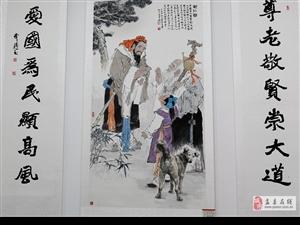 盂县老年书画摄影展览在文化中心展出