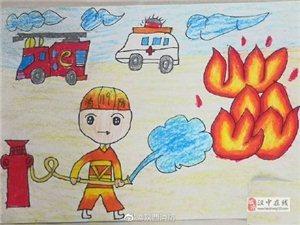 �h中萌娃��消防