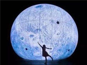 """""""超级月亮""""空降潢川!今年中秋,我在红玺台赏月!"""