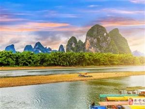 人人都說桂林山水甲天下,人在風景中,如在畫中游!