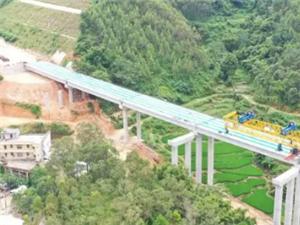 云茂高速高州段工程建设全线路基已拉通,路线已成雏型!