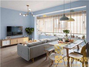家合装饰,100�O温馨北欧,清新而实用的惬意生活