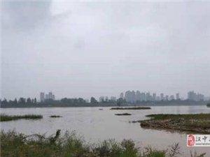 汉中:普降中到大雨局地暴雨多条河流涨水