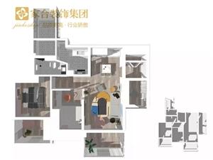 【家合装饰】107�O舒适北欧2室2厅,邂逅撩动人心的理想生活