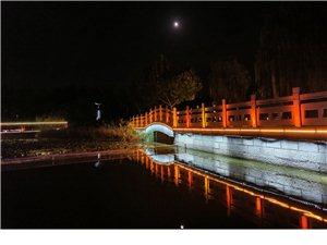 国庆节前夕人民公园夜色美景