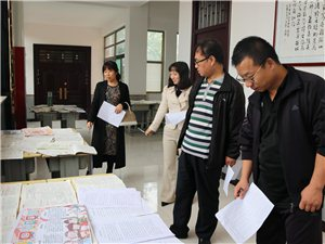 合阳县城关中学开展暑假实践作业展评活动