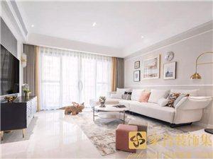 家合装饰,浪漫美式,成就优雅轻奢的品位生活