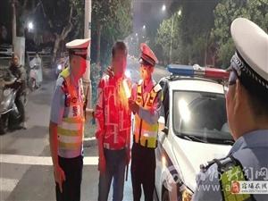 宿州市公安局交警支队一大队:联合县交警大队,开展酒醉驾专项整治行动