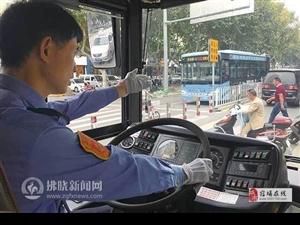 公交司机:礼让斑马线 让出城市文明风