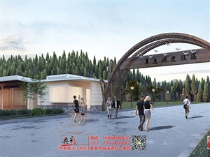 公共厕所卫生间规划建设效果图设计制作,公厕外观设计图