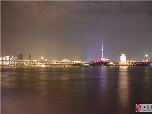 武汉长江夜景