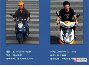 桐城最新一批交通违法和不文明交通行为曝光!