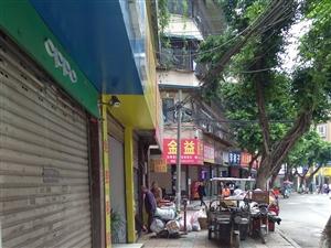 书院街二段26号收废品的长期占用人行道