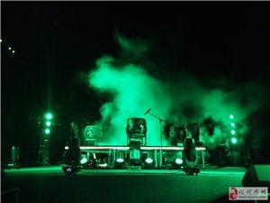 化州下郭的首届动感音乐灯光秀,你们看了吗?