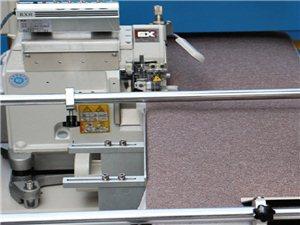 花样缝纫机-全自动围条打点生产线+喜登堡