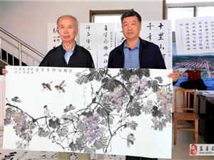 """泥河村""""庆丰收,迎国庆""""书法文化活动"""