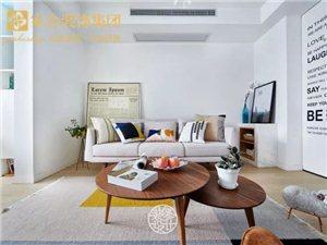 【家合装饰】89m2两室一厅,花35万搭出了北欧的精髓,值了!