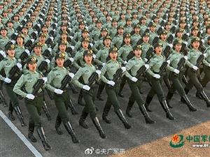 震撼!国庆大阅兵训练场实拍 女兵方队的一天