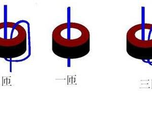 电流互感器正确的穿线方式,变比与匝数换算详解!